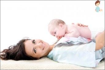 Gymnastik nach der Geburt: Licht und ordnungsgemäße Wiederherstellung der Figur