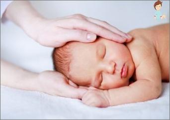 Wie kann man Schläfrigkeit loswerden und ein Kind legen?