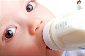 Merkmale der Erfüllung und Lagerung von Muttermilch