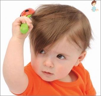 قشرة الرأس في طفل - نحن نبحث عن أسباب