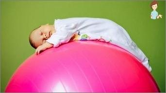 Wir sind mit einem Brustkind in Phytball engagiert