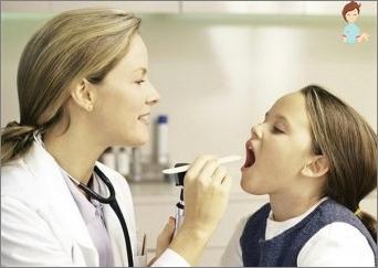 الهربسة الذبحة الصدرية في الأطفال