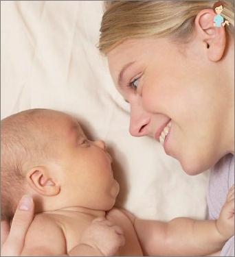 Erholung nach dem Kaiserschnitt
