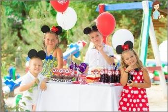 نحن ننظم عطلة الأطفال