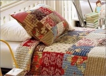 Decke mit deinen eigenen Händen: Wir beherrschen die Technik & Laquo; patchwork & raquo;