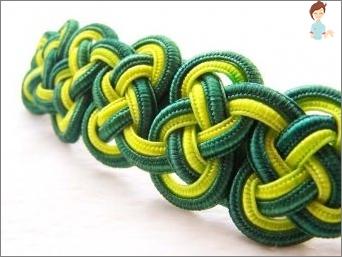 Lernen, interessante Produkte von Kordeln oder Seilen zu weben