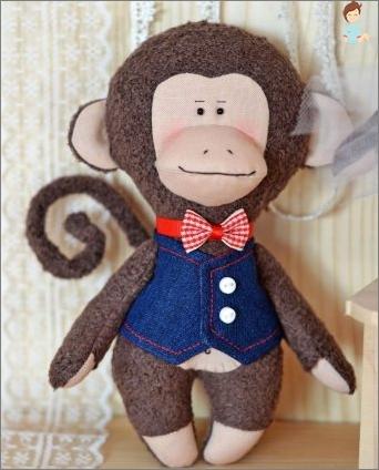 Wie man ein Tilde-Affe-Spielzeug näht?
