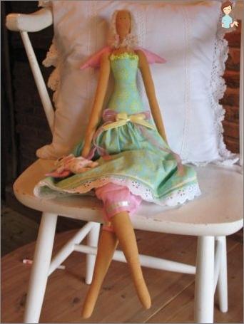 Wie nähe ich eine lustige Puppe-Tilda mit ihren eigenen Händen?
