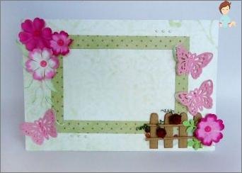 Wie erstellt man einen schönen Rahmen für Fotos von Pappe mit eigenen Händen?