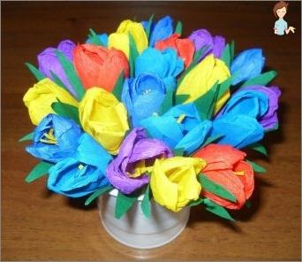 Wellpapier - Die Basis für die Erstellung von Tulpen