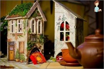 Der Ort, an dem Tee lebt, oder eine Decoupage eines Teehauses tun Sie selbst