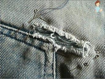 So schärfen Sie ein Loch auf Jeans: Nützliche Tipps