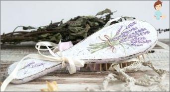 Decoupage in Stil & Laquo; Provence & Raquo;: Die besten Ideen für Kreativität