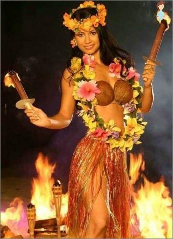 Einen hawaiianischen Rock mit deinen eigenen Händen machen