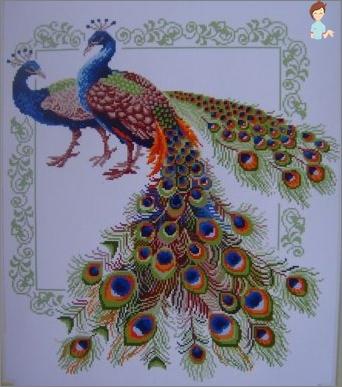 Erlernen, um Peacock-Perlen zu sticken
