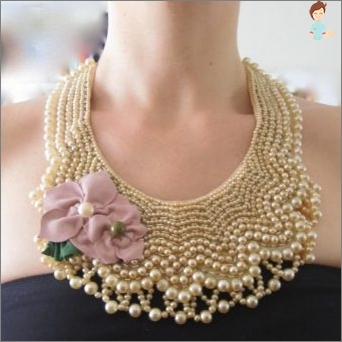 Schemata von Weberkräften von Perlen Tun Sie es selbst: Wie kann man eine stilvolle Dekoration für Kleidung machen?
