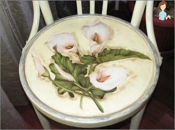 Wie erstellt man einen Decoupage-Stuhl in verschiedenen Stilen mit eigenen Händen?