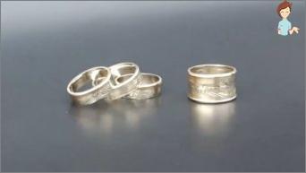 Wir machen Dekorationen mit eigenen Händen - einem stilvollen Ring der Münzen