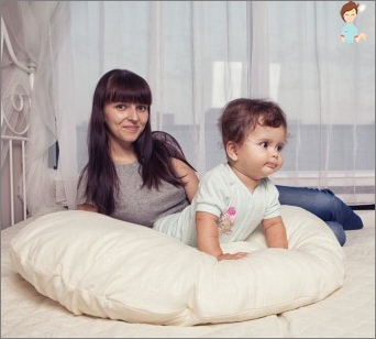 We sew yourself a pillow for pregnant women