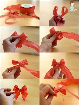 Ribbon Bow: einfach, verfügbar, schön