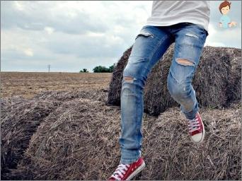 So nähen Sie ein Loch auf Jeans und tragen Sie noch ein paar Jahre Hosen?