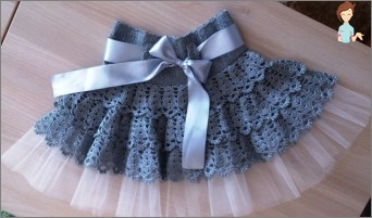 Skirt with swans - knit crochet: Tips, instructions, recommendations