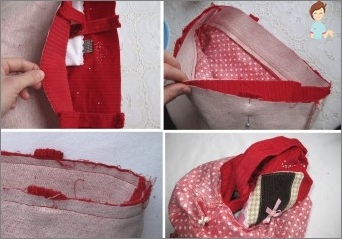 Learning to sew in a lightning bag