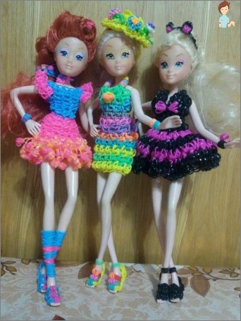 How to make clothes for dolls do it yourself and please your daughter?