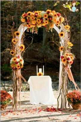 So organisieren Sie eine Hochzeitsfeier im Land