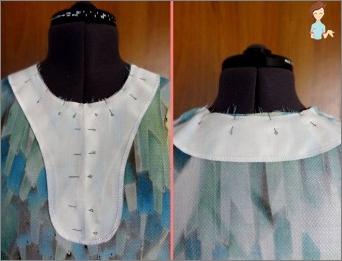 Informationen zum Umgang mit dem Hals des Kleides