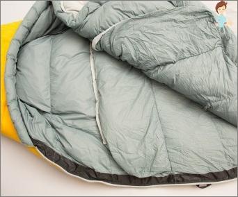 Schlafsack mit eigenen Händen: Merkmale des Schneidens und Nähens