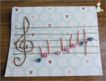 Wie erstellt man eine Musikkarte?
