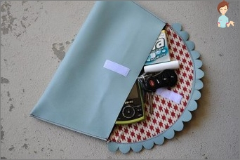 How to sew a clutch with your own hands?