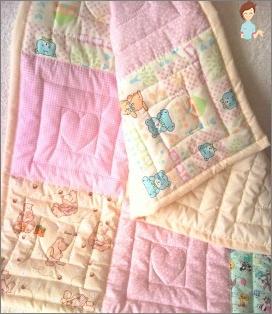 Children's blanket do it yourself: tie or sew?
