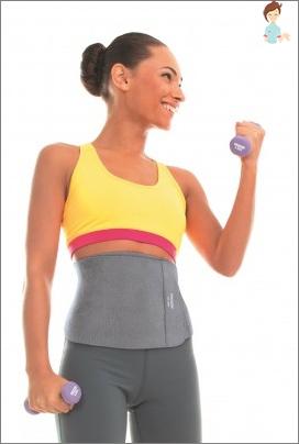 كيفية خياطة الحزام ساونا بشكل صحيح مع تأثير فقدان الوزن بأيديك؟