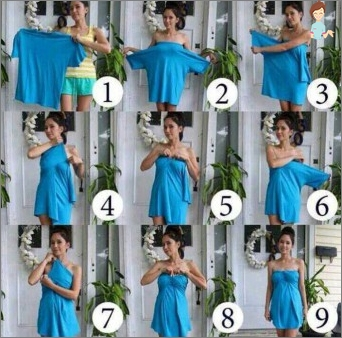 Sowjets von Nadelwomen, wie man mit deinen eigenen Händen von der Freundin ein Kleid macht