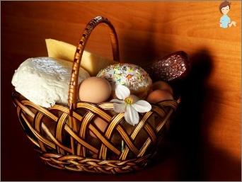 Osterkorb für Eiern tut es dir selbst