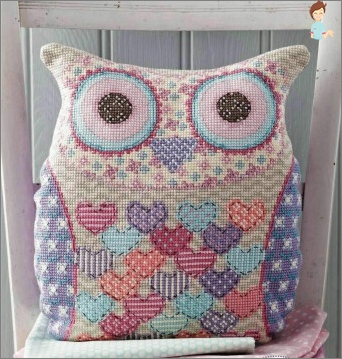 Interesting ideas for making pillows toys do it yourself