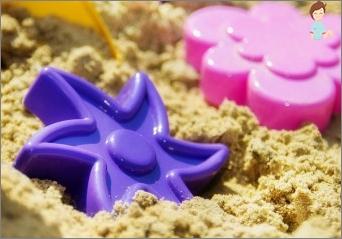 كيفية استخدام الرمال الملونة؟