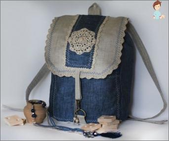 كيفية خياطة حقيبة الظهر من الجينز البالية القديمة؟