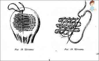 How to darken woolen socks: wahat, which no one will notice
