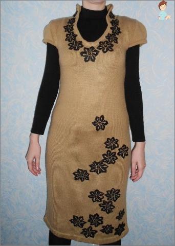 So dekorieren Sie ein Kleid mit Ihren eigenen Händen