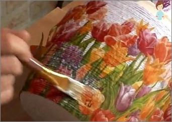 Wir nehmen uns Zeit mit Nutzen: Lernen Sie, Decoupage-Vase zu machen