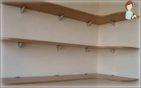 We optimize the storage room in the American spirit: we make the shelves do it yourself