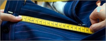 How to sew pants - the tailor itself