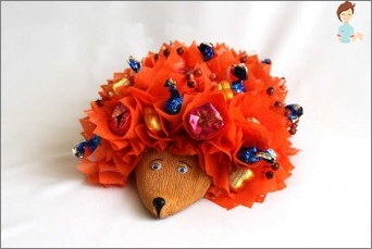 Hedgehog from sweets - original and delicious gift for all occasions