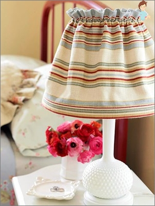 How to make lampshade with your own hands from girlfriend?