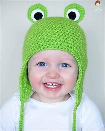 Wintergestrickte Hüte für Mädchen und ihre Eltern