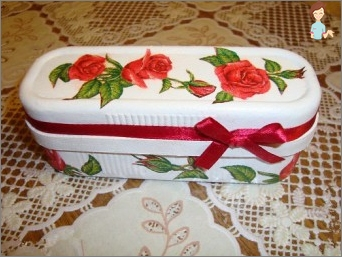 Decoupage Boxes from under shoes