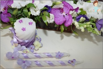 Hochzeitskerzen: obligatorische Attribut-Hochzeitszeremonie